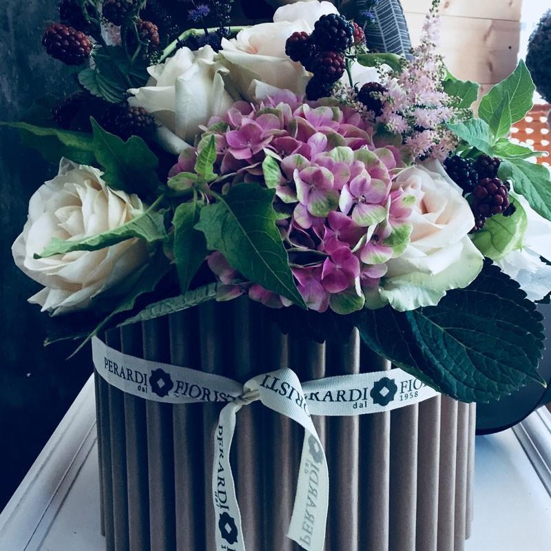 Pacco regalo bouquet